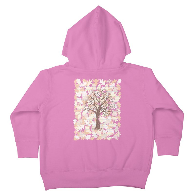 Loose Leaf Kids Toddler Zip-Up Hoody by Made With Awesome