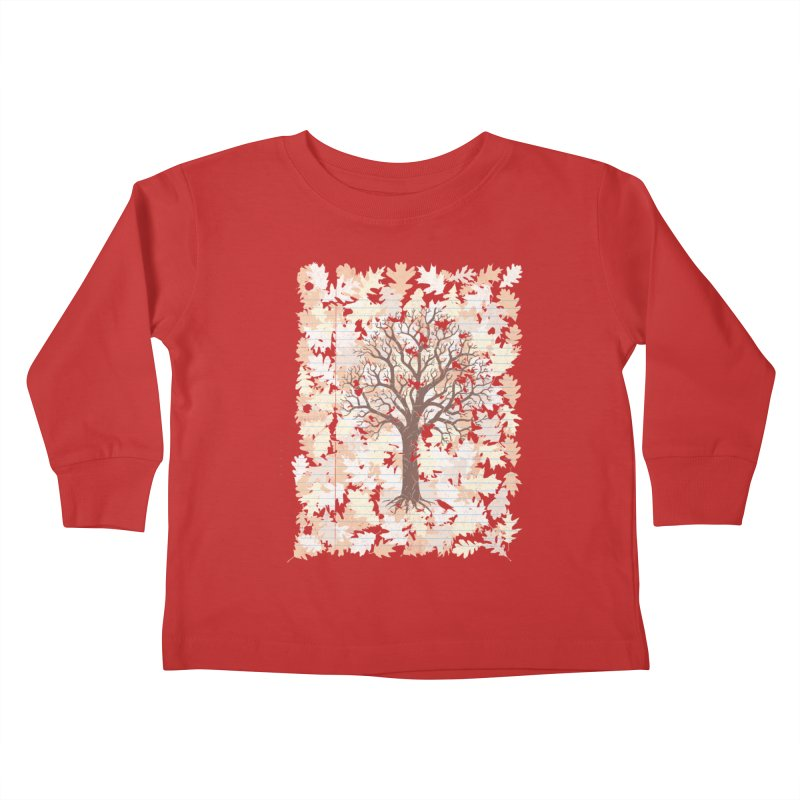 Loose Leaf Kids Toddler Longsleeve T-Shirt by Made With Awesome