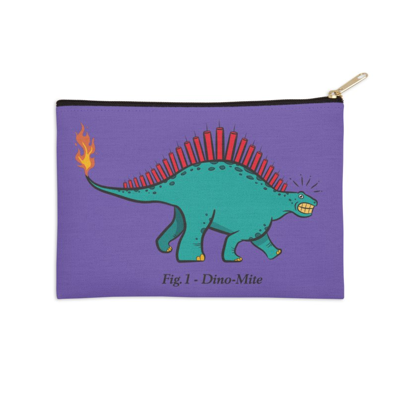Dino-mite Accessories Zip Pouch by Made With Awesome