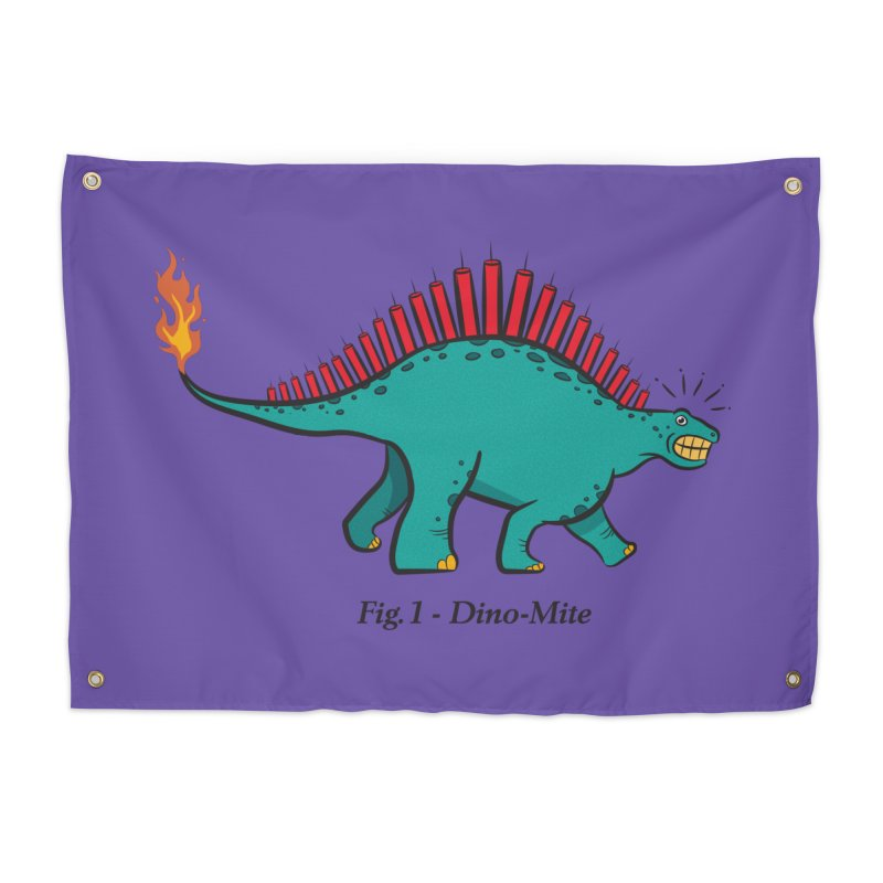 Dino-mite Home Tapestry by Made With Awesome