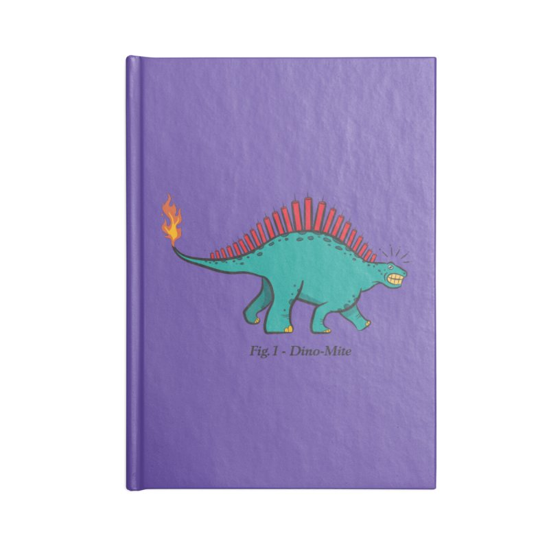 Dino-mite Accessories Notebook by Made With Awesome