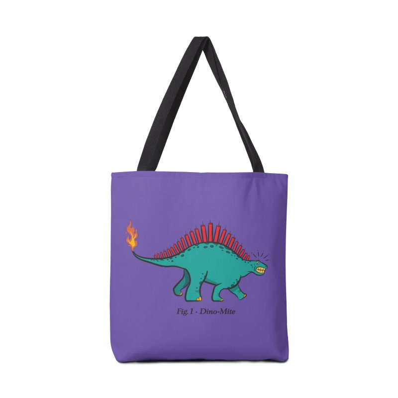 Dino-mite Accessories Bag by Made With Awesome