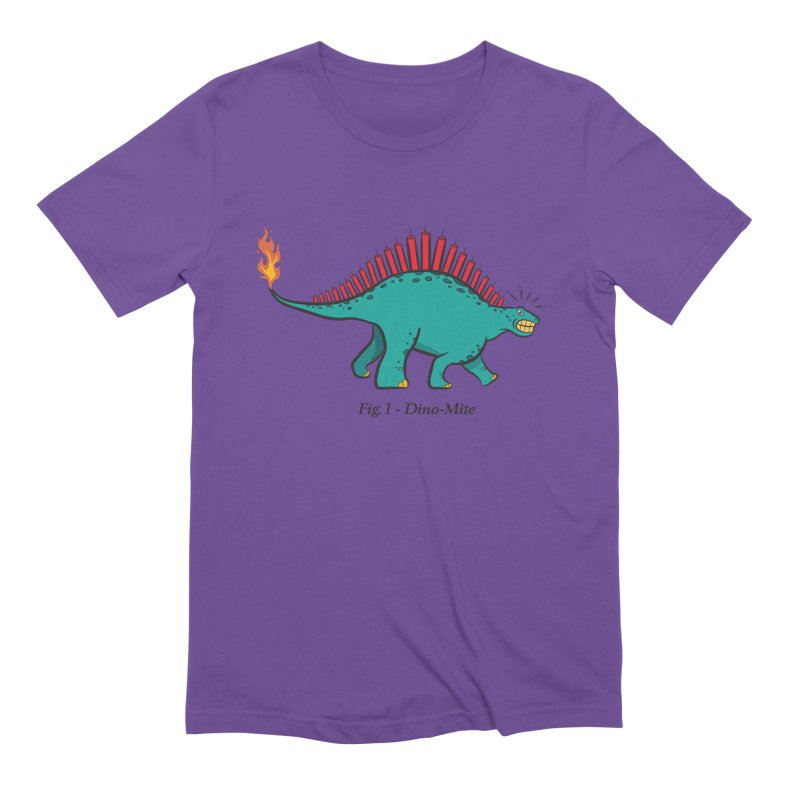 Dino-mite Men's Extra Soft T-Shirt by Made With Awesome