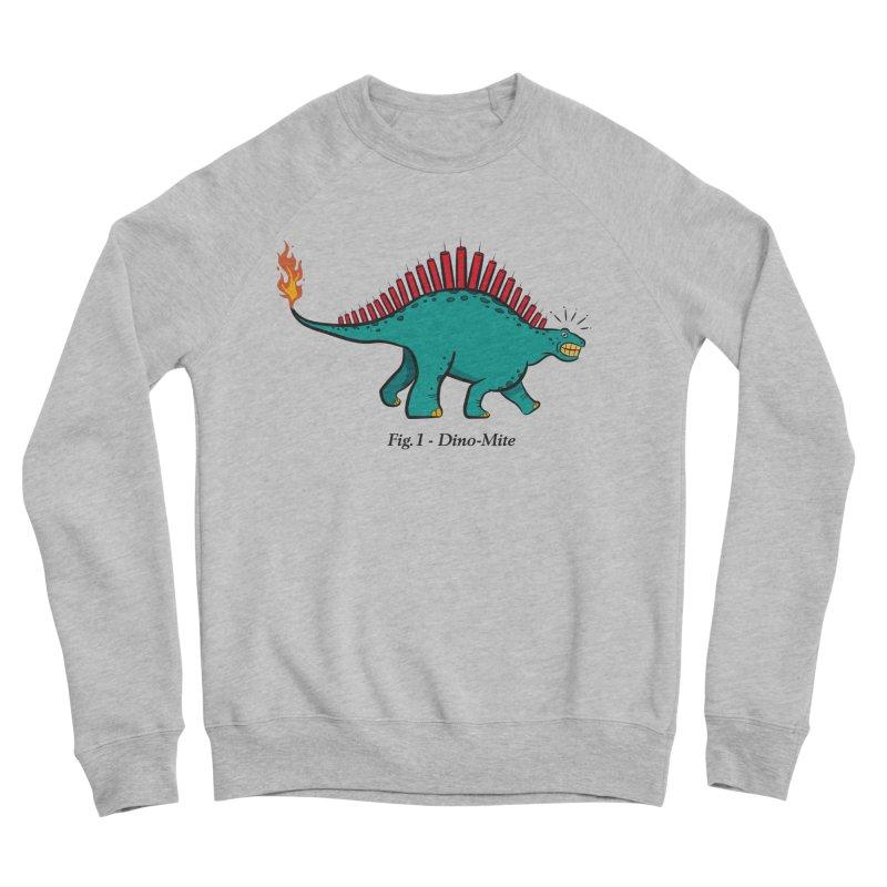 Dino-mite Women's Sponge Fleece Sweatshirt by Made With Awesome