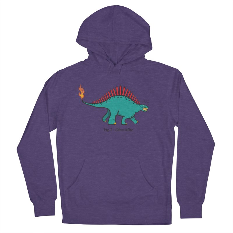 Dino-mite Men's French Terry Pullover Hoody by Made With Awesome