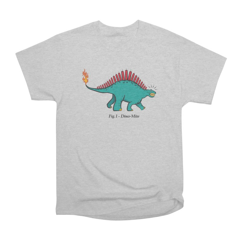 Dino-mite Men's Heavyweight T-Shirt by Made With Awesome
