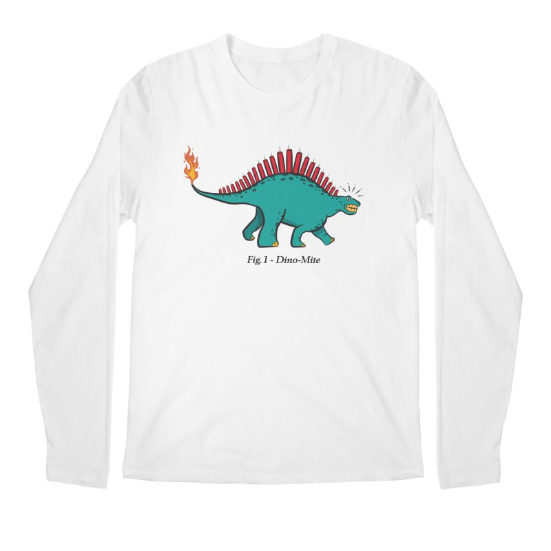Dino-mite Men's Regular Longsleeve T-Shirt by Made With Awesome