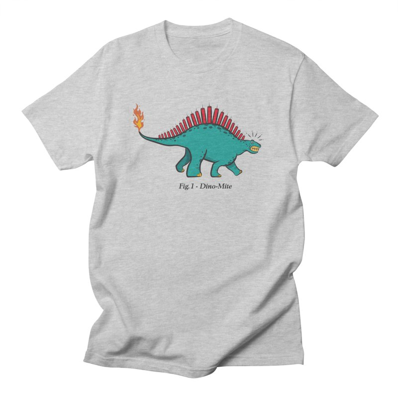 Dino-mite Women's Regular Unisex T-Shirt by Made With Awesome