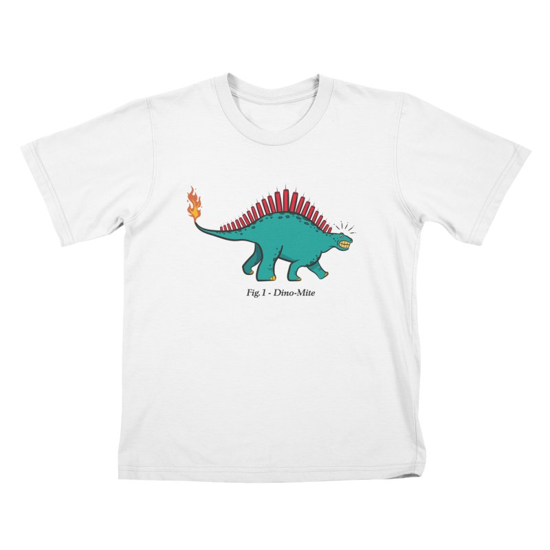 Dino-mite Kids Toddler T-Shirt by Made With Awesome