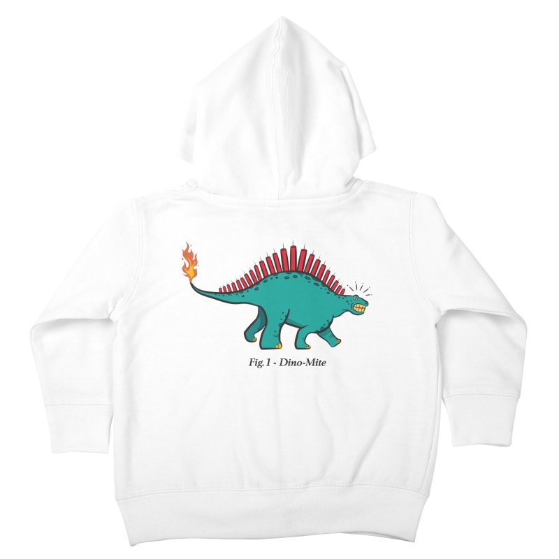 Dino-mite Kids Toddler Zip-Up Hoody by Made With Awesome
