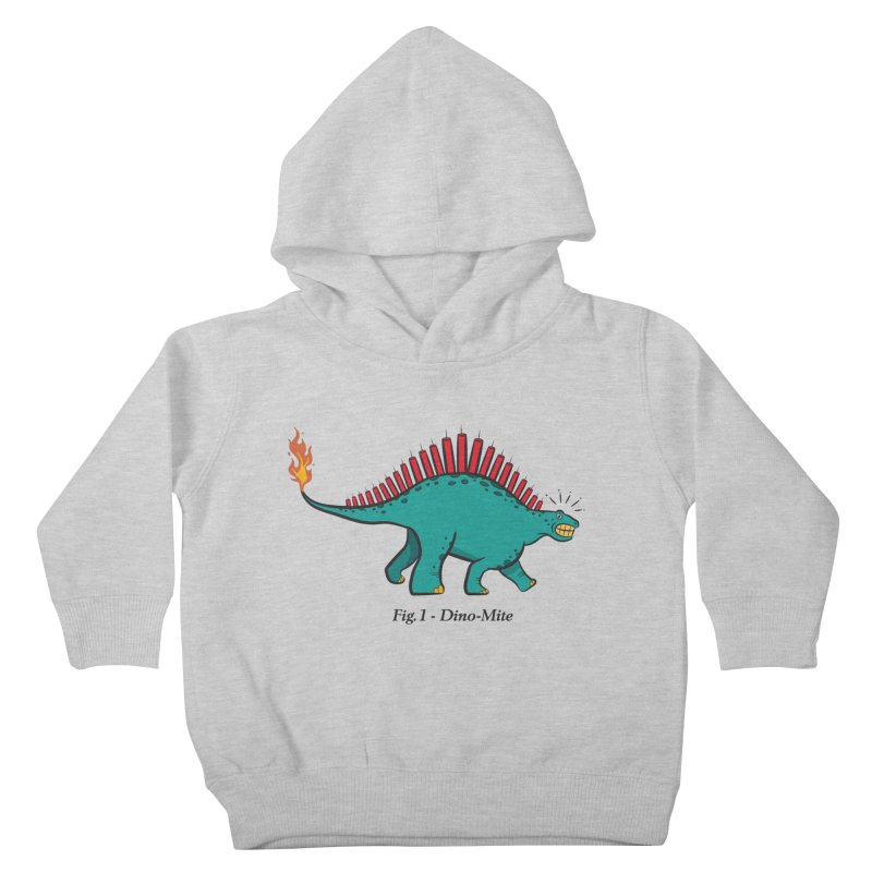 Dino-mite Kids Toddler Pullover Hoody by Made With Awesome