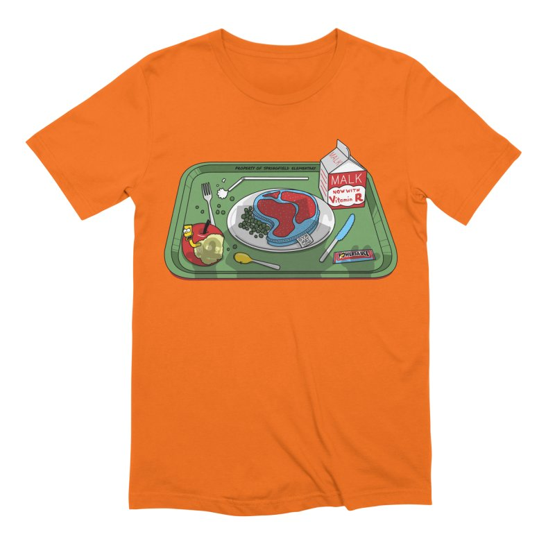 Lisa's Lunchtime Men's Extra Soft T-Shirt by Made With Awesome
