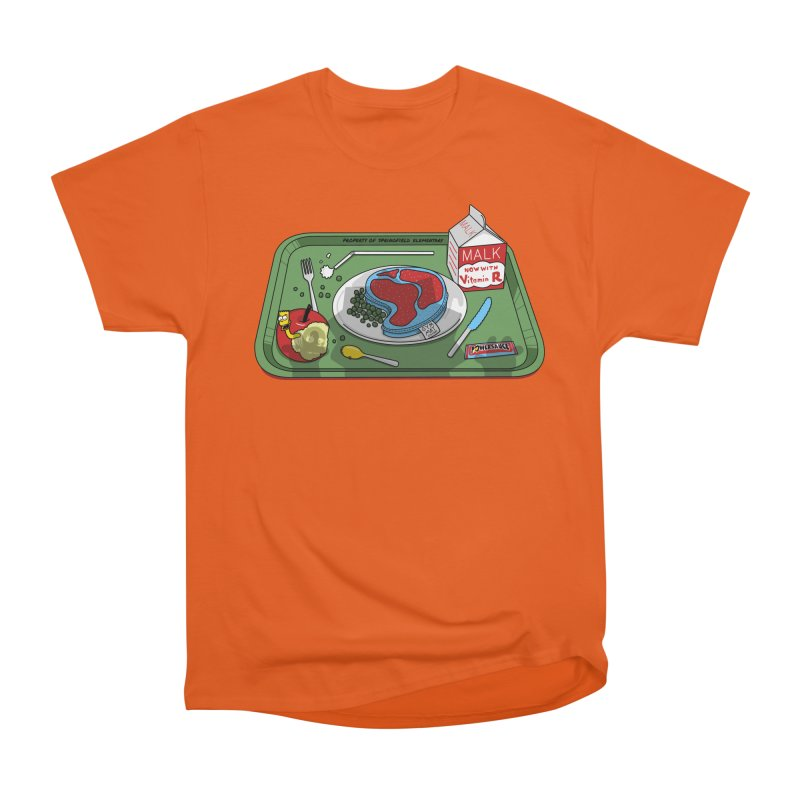 Lisa's Lunchtime Women's Heavyweight Unisex T-Shirt by Made With Awesome