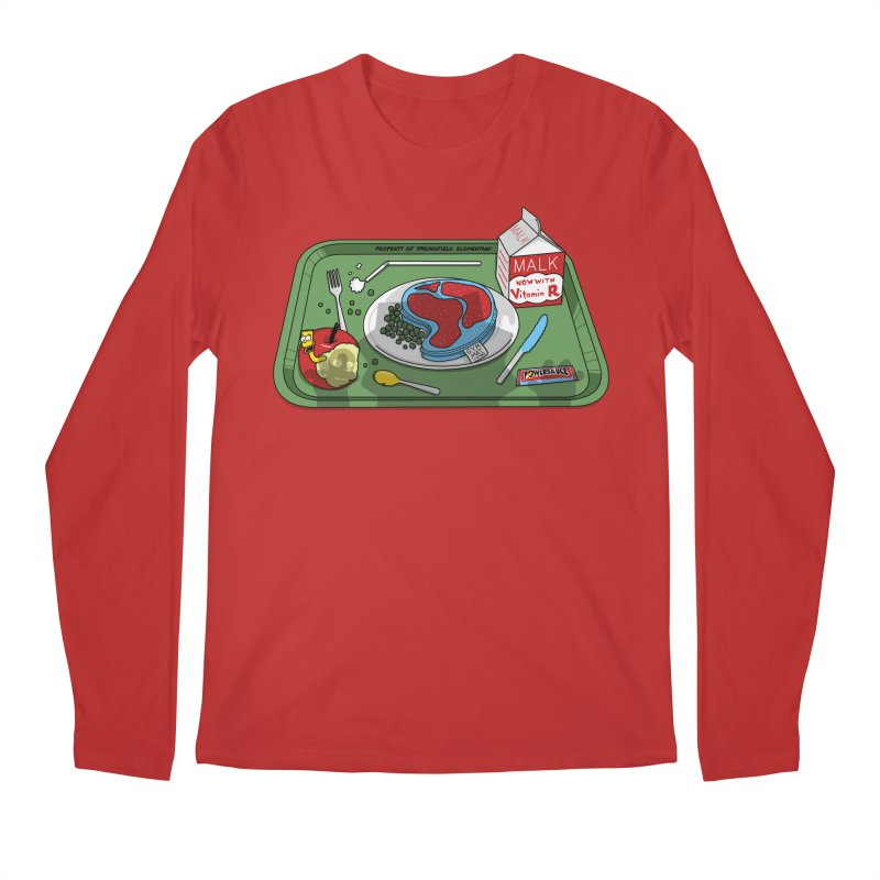 Lisa's Lunchtime Men's Regular Longsleeve T-Shirt by Made With Awesome
