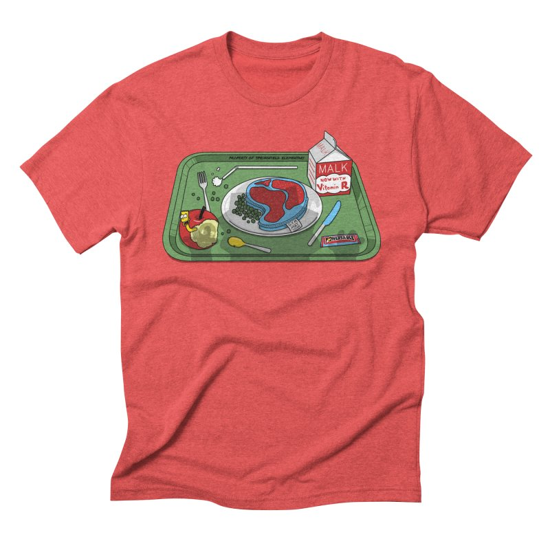 Lisa's Lunchtime Men's Triblend T-Shirt by Made With Awesome