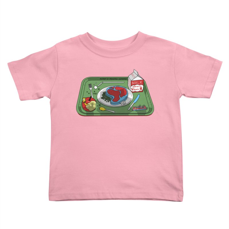 Lisa's Lunchtime Kids Toddler T-Shirt by Made With Awesome