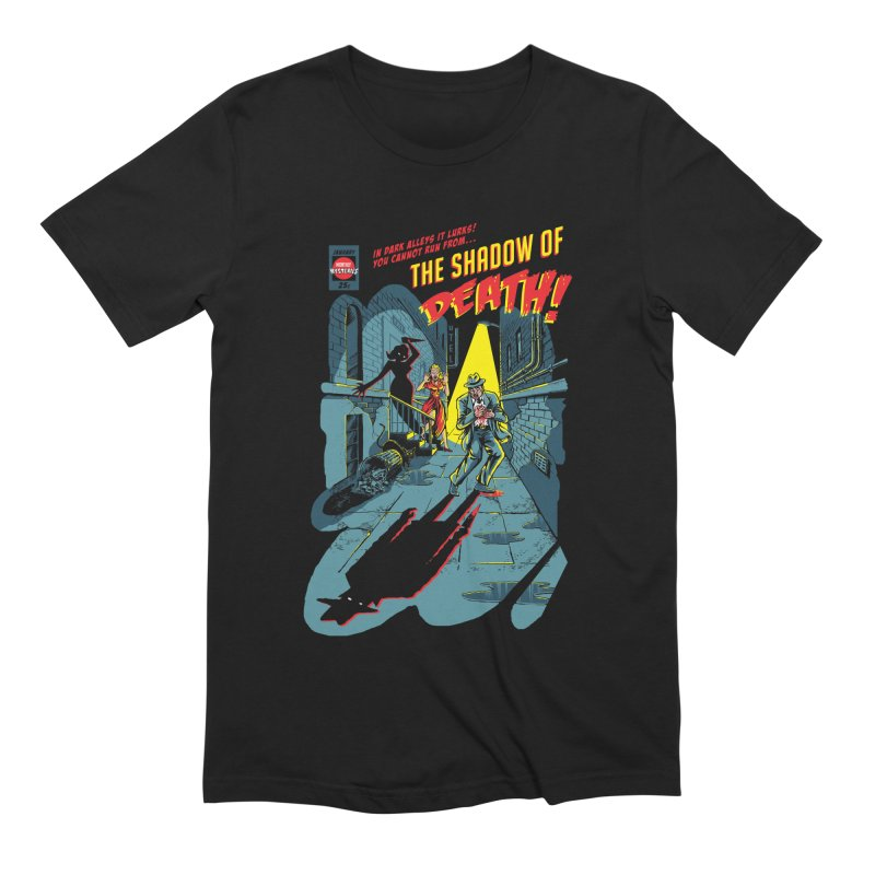 Shadow of Death Men's Extra Soft T-Shirt by Made With Awesome