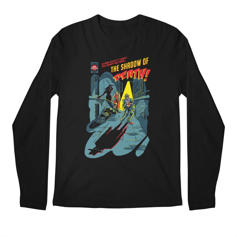 Shadow of Death Men's Regular Longsleeve T-Shirt by Made With Awesome