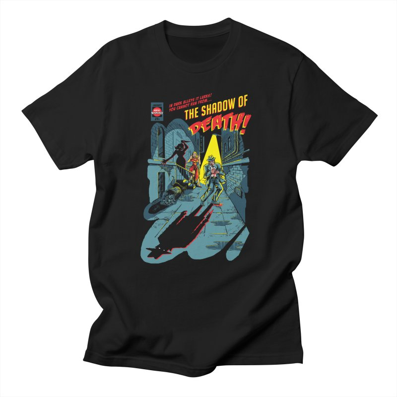 Shadow of Death Guys T-Shirt by Made With Awesome