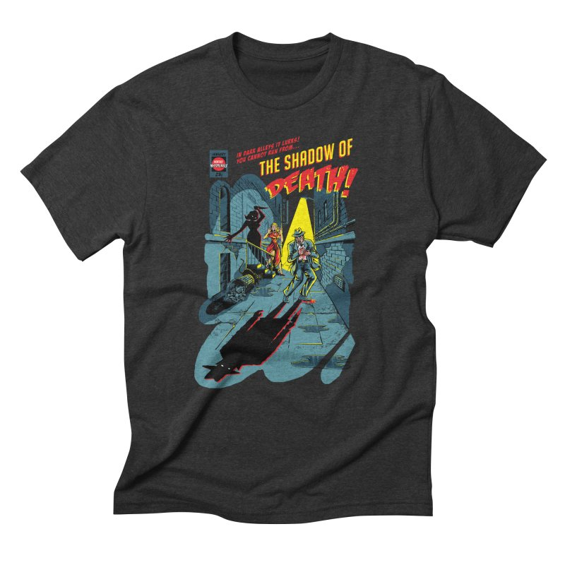 Shadow of Death Men's Triblend T-Shirt by Made With Awesome