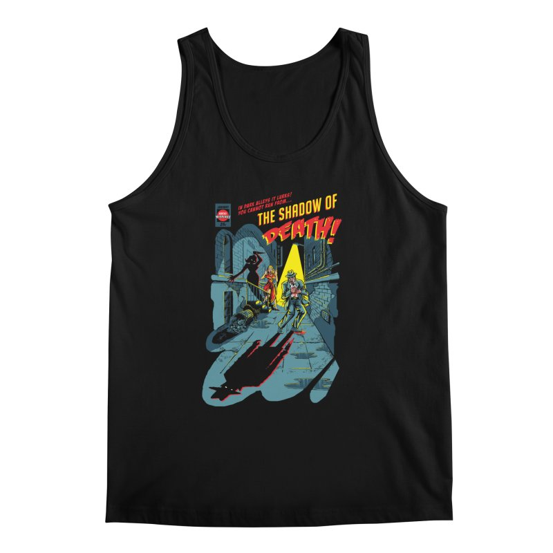 Shadow of Death Men's Regular Tank by Made With Awesome