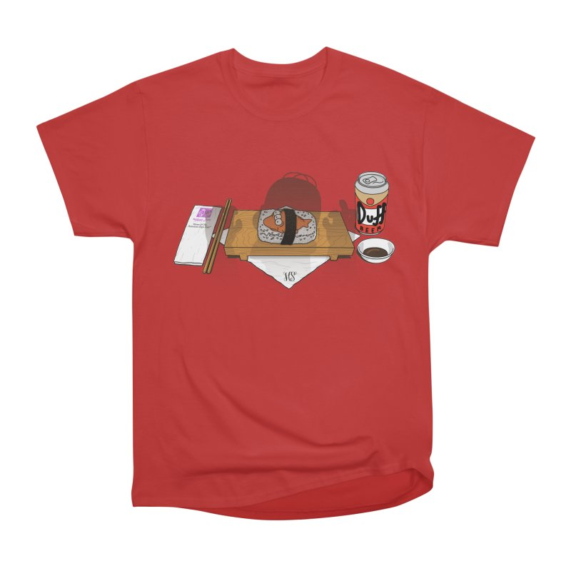 Hungry Hungry Homer Women's Heavyweight Unisex T-Shirt by Made With Awesome