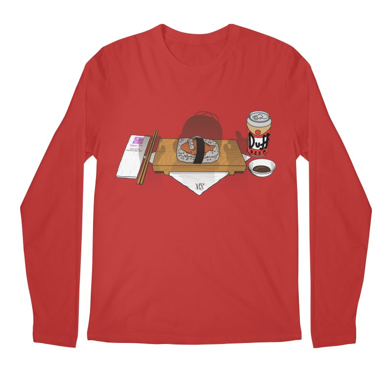 Hungry Hungry Homer Men's Regular Longsleeve T-Shirt by Made With Awesome
