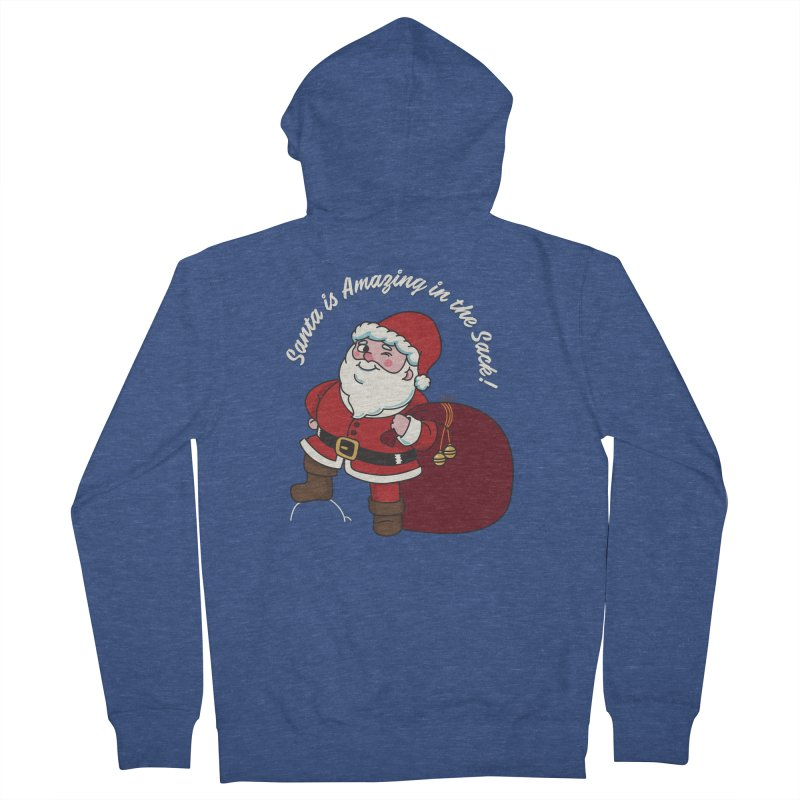 Santa's Sacks Life Women's French Terry Zip-Up Hoody by Made With Awesome