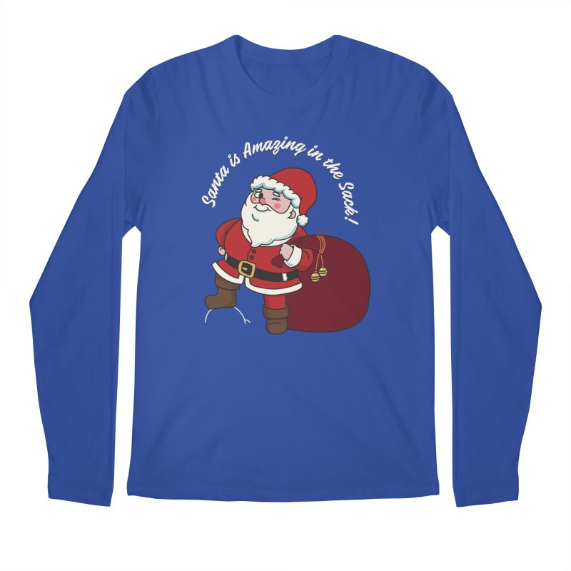 Santa's Sacks Life Men's Longsleeve T-Shirt by Made With Awesome