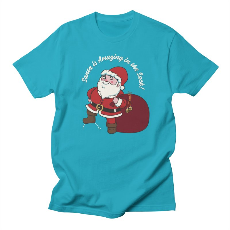 Santa's Sacks Life Women's Regular Unisex T-Shirt by Made With Awesome