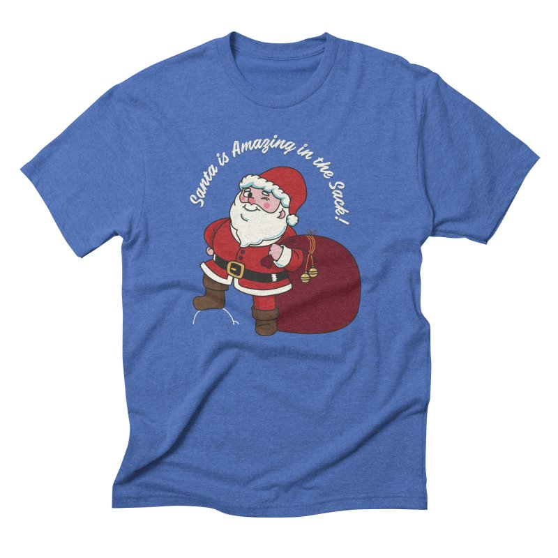 Santa's Sacks Life Men's Triblend T-Shirt by Made With Awesome