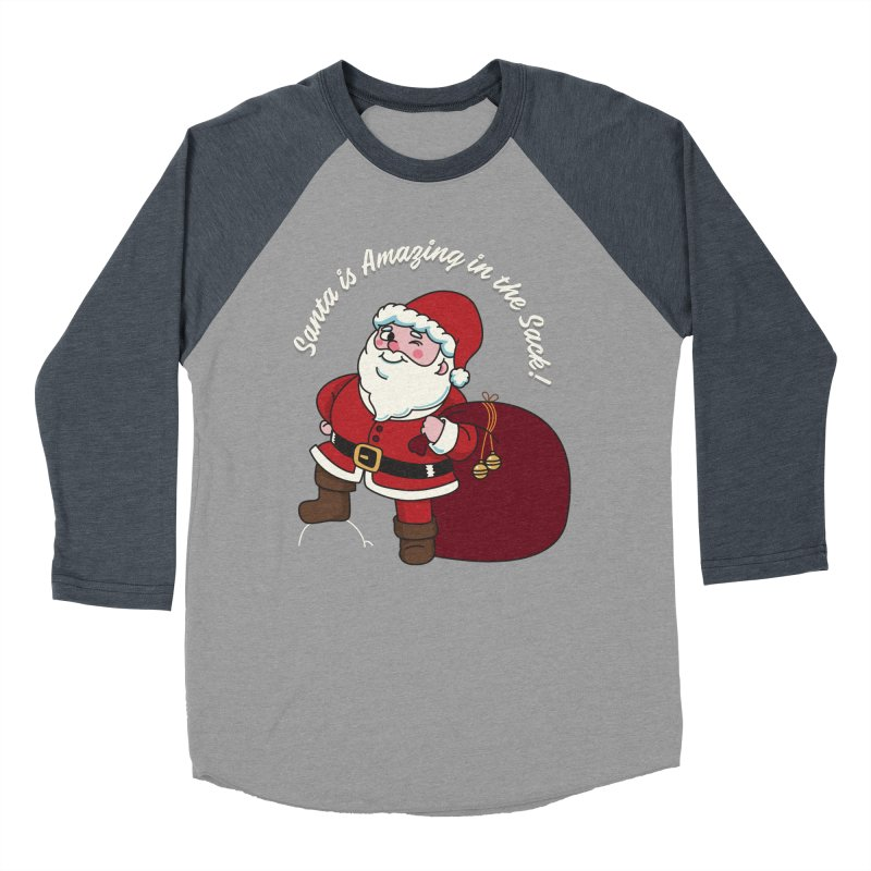 Santa's Sacks Life Women's Baseball Triblend Longsleeve T-Shirt by Made With Awesome