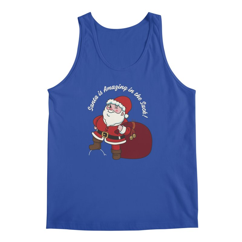 Santa's Sacks Life Men's Regular Tank by Made With Awesome