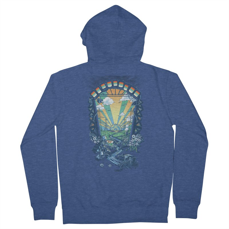 The Robot's Renaissance Women's French Terry Zip-Up Hoody by Made With Awesome