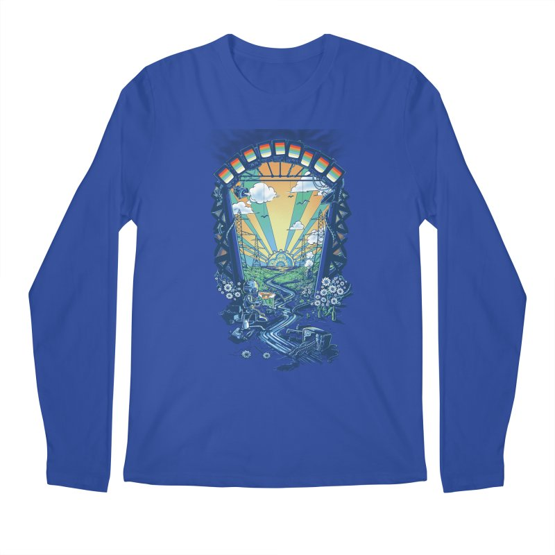 The Robot's Renaissance Men's Regular Longsleeve T-Shirt by Made With Awesome