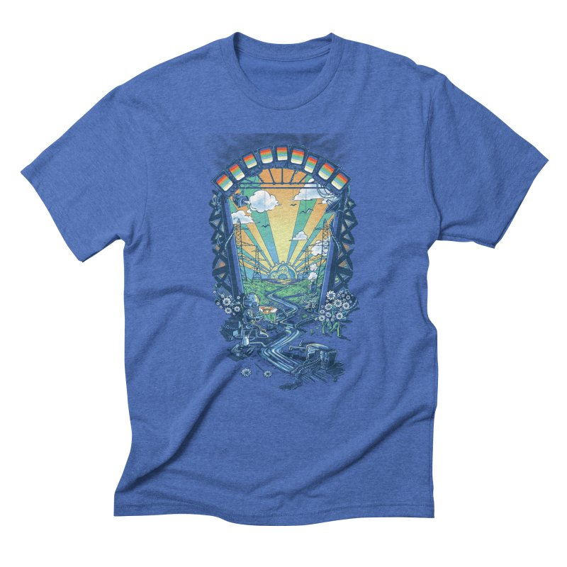 The Robot's Renaissance Men's Triblend T-Shirt by Made With Awesome