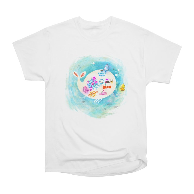Squidfitti Women's Heavyweight Unisex T-Shirt by Made With Awesome