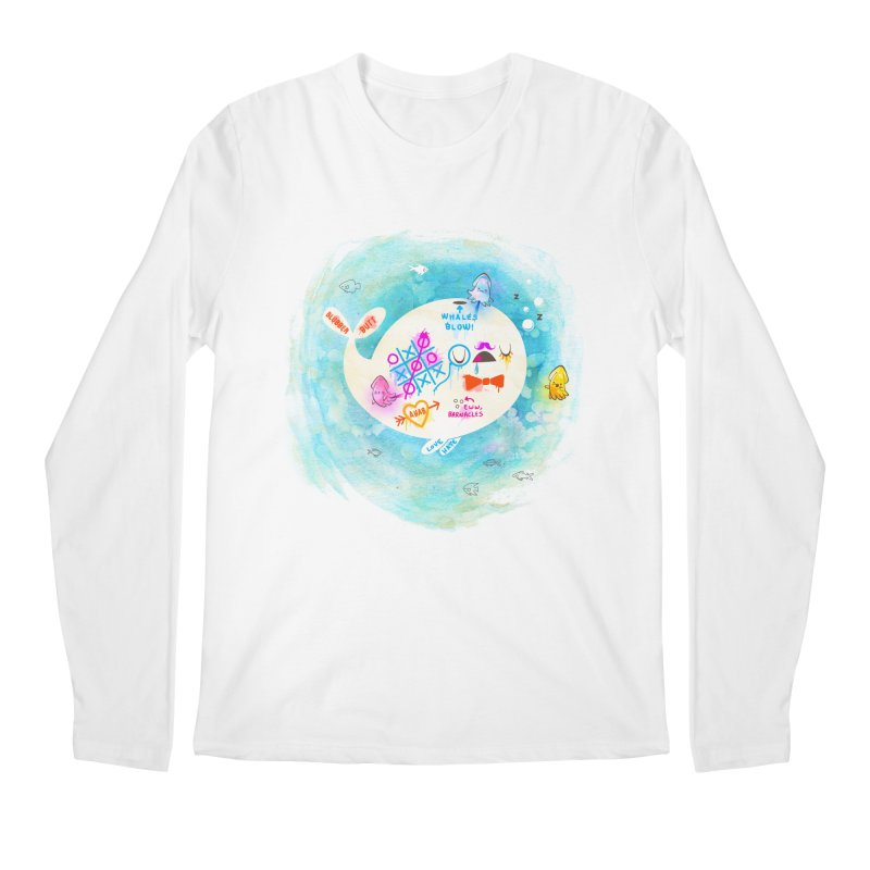 Squidfitti Men's Regular Longsleeve T-Shirt by Made With Awesome