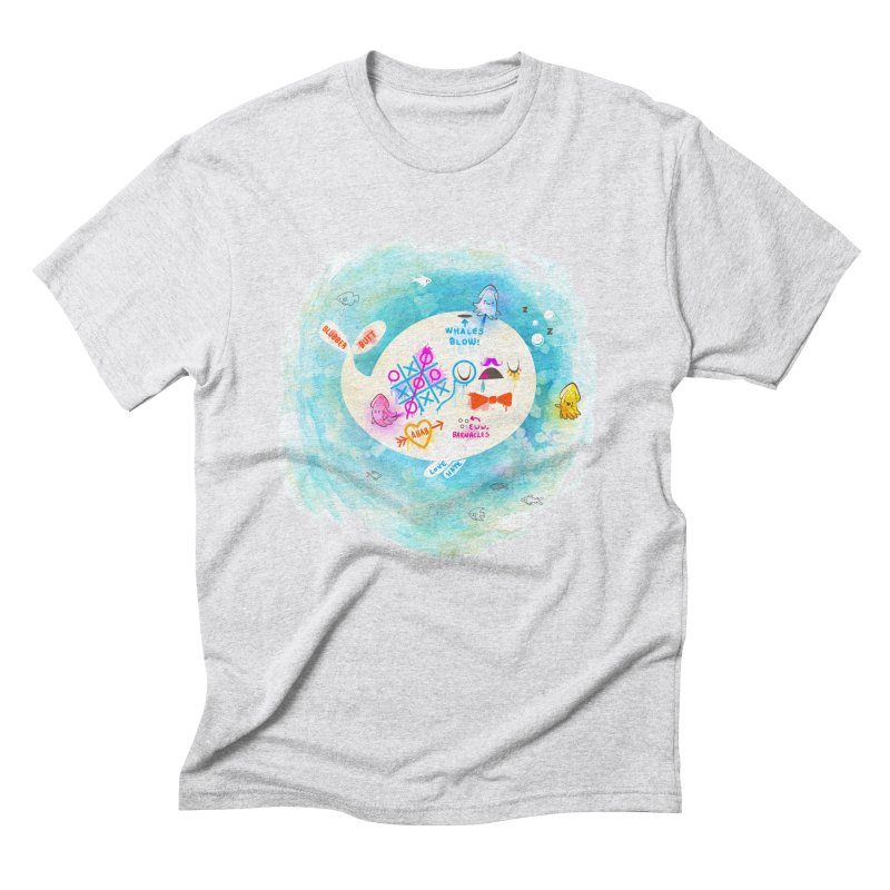 Squidfitti Men's Triblend T-Shirt by Made With Awesome