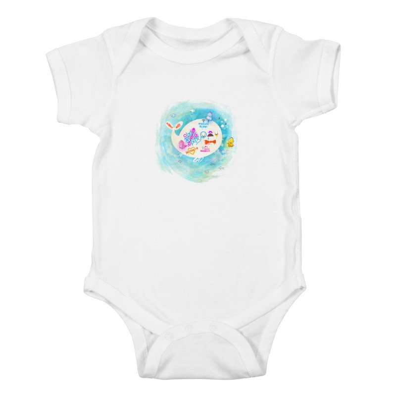 Squidfitti Kids Baby Bodysuit by Made With Awesome
