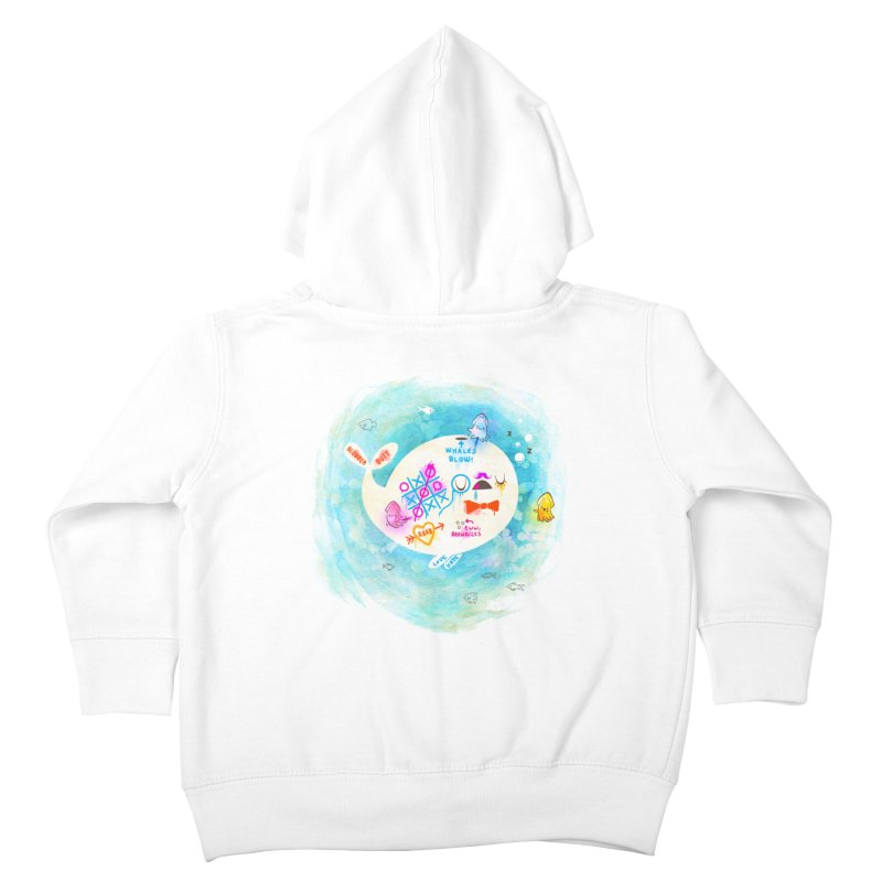 Squidfitti Kids Toddler Zip-Up Hoody by Made With Awesome
