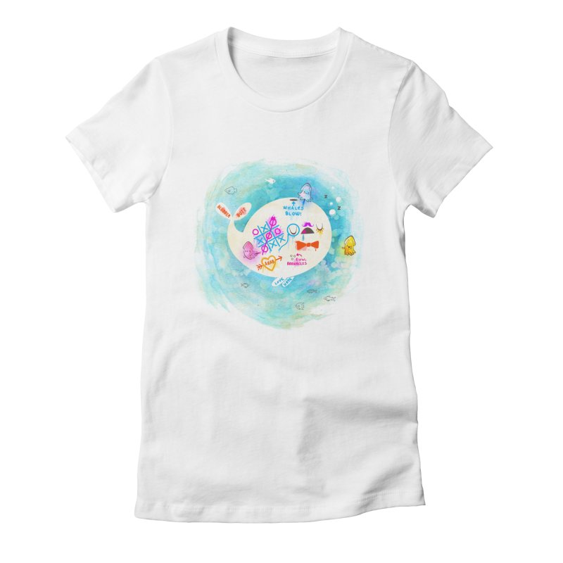 Squidfitti Women's Fitted T-Shirt by Made With Awesome