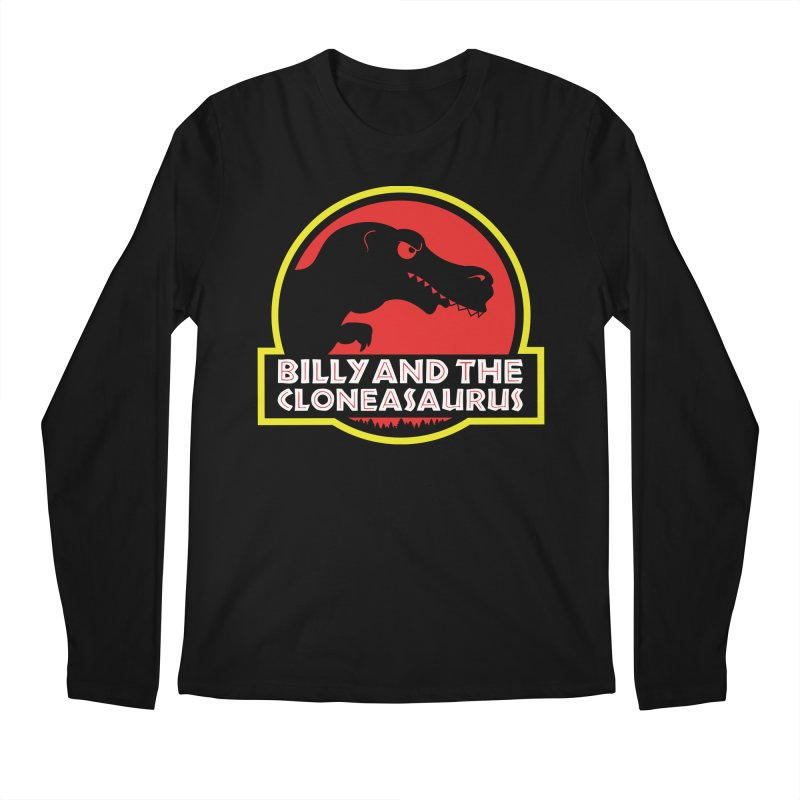 Billy and The Cloneasauras Men's Regular Longsleeve T-Shirt by Made With Awesome