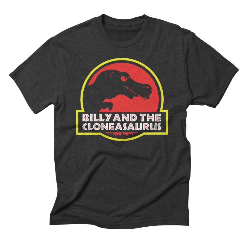 Billy and The Cloneasauras Men's Triblend T-Shirt by Made With Awesome