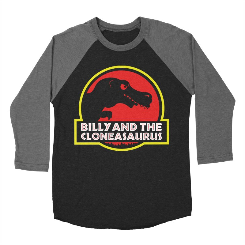 Billy and The Cloneasauras Women's Baseball Triblend Longsleeve T-Shirt by Made With Awesome