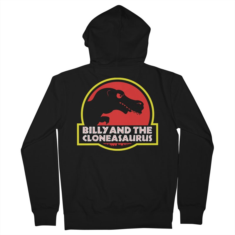 Billy and The Cloneasauras Women's French Terry Zip-Up Hoody by Made With Awesome