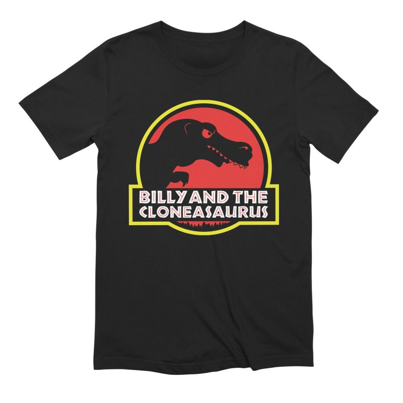 Billy and The Cloneasauras Guys T-Shirt by Made With Awesome
