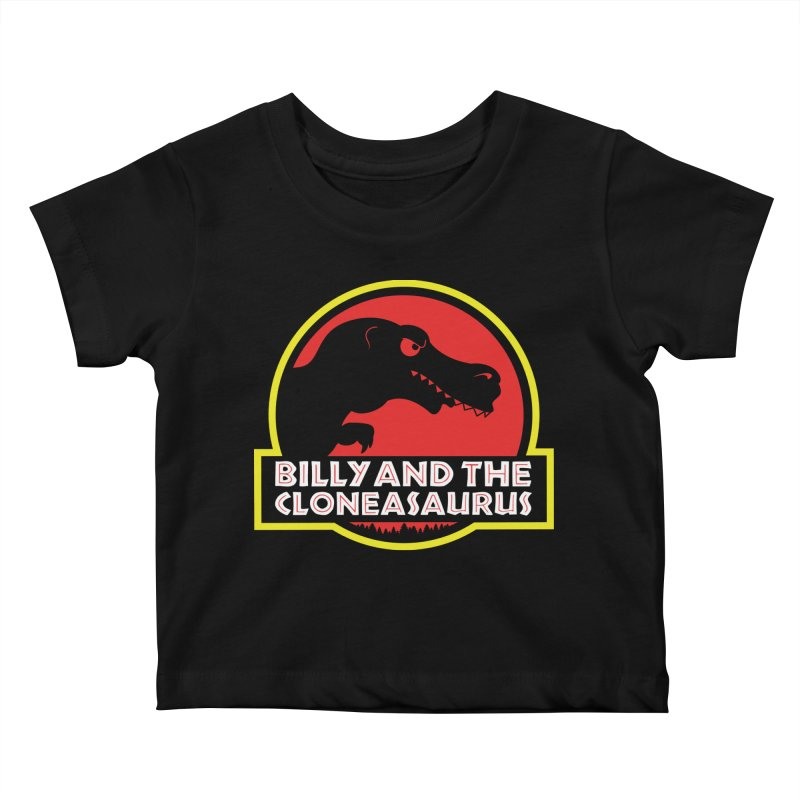 Billy and The Cloneasauras Kids Baby T-Shirt by Made With Awesome