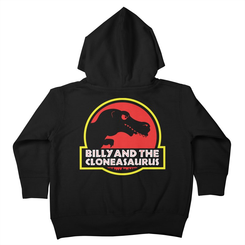 Billy and The Cloneasauras Kids Toddler Zip-Up Hoody by Made With Awesome