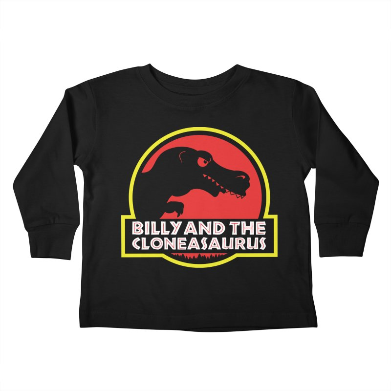 Billy and The Cloneasauras Kids Toddler Longsleeve T-Shirt by Made With Awesome